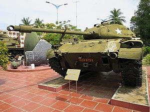Zone 5 Military Museum, Danang - Image: M41 at Zone 5 Military Museum, Danang