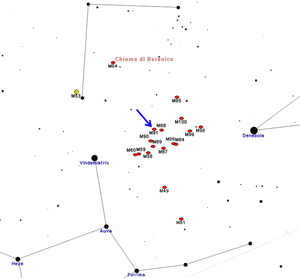 Messier 91 - M91 map