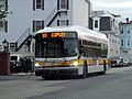 MBTA route 10 bus on East First Street, May 2017.JPG