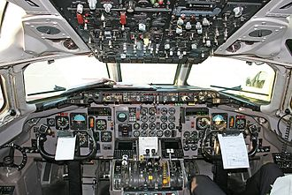 McDonnell Douglas MD-80 - Flight deck of a Viking Airlines MD-83