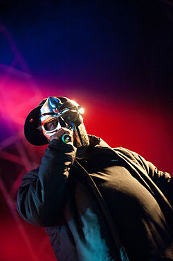 MF Doom at the Hultsfred Festival 2011 in Sweden