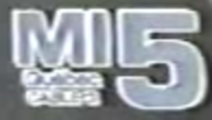 CKMI-DT - MI-5 logo, used in 1980s while the station was still a CBC affiliate.