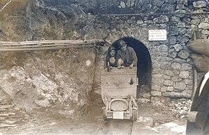 Ecomuseo delle ferriere e fonderie di Calabria - Image: MINIERA2