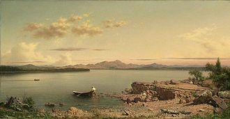 Martin Johnson Heade - Lake George, 1862