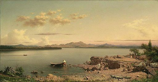 MJ Heade Lake George, 1862