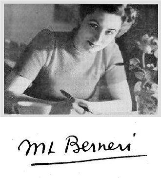 Marie-Louise Berneri - Image: ML Berneri