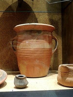 Cagliari - Monte Claro culture pottery