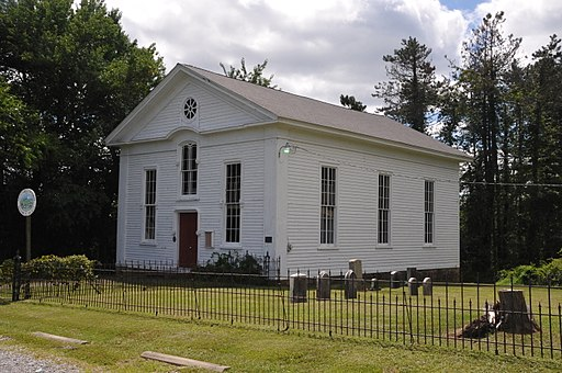 MOUNT SALEM METHODIST EPISCOPAL CHURCH, HUNTERDON COUNTY