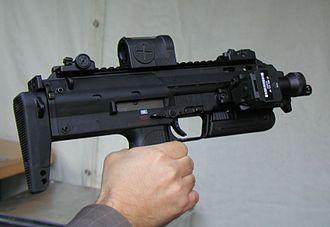 Heckler & Koch MP7 - Image: MP7Sept 2006