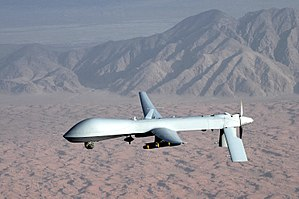 Targeted killing - A Predator  drone; sometimes used in targeted killings