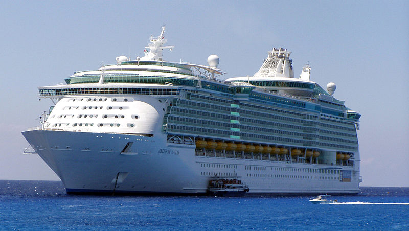 Filems Freedom Of The Seas In Its Maiden Voyage Croppedg