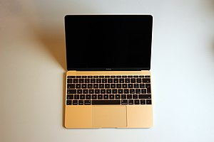 MacBook in Gold