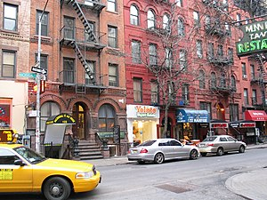 Greenwich Village - MacDougal Street in Greenwich Village