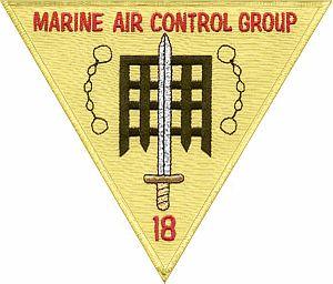 Marine Air Control Group 18 - MACG-18 Insignia