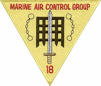 Marine Air Control Group 18 - MACG-18 Insignia