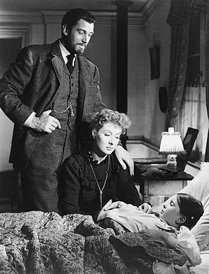 Madame Curie (film) - Walter Pidgeon, Greer Garson and Margaret O'Brien in Madame Curie
