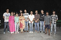 Madhumita Roy Khan with theatre actors 03.jpg