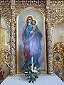 Madonna and Child, Iconostasis, Greek Catholic church, 2017 Máriapócs.jpg