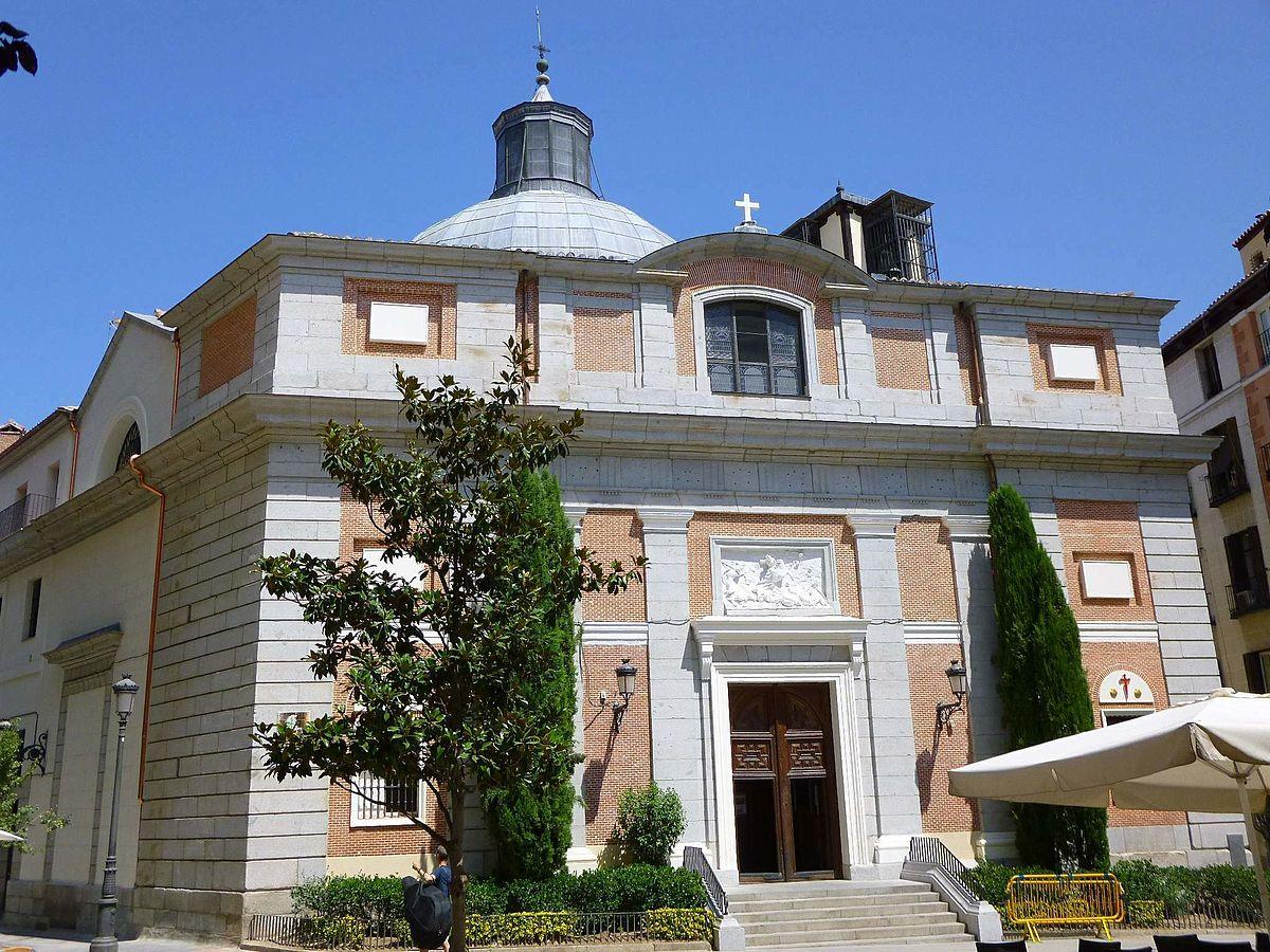 Iglesia de santiago madrid wikipedia la enciclopedia libre - Calle santiago madrid ...