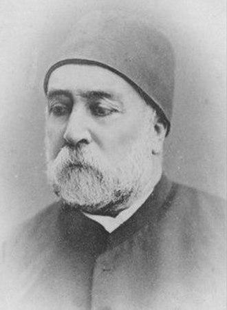 Pasha of Tripoli - Image: Mahmud Nedim Pasha