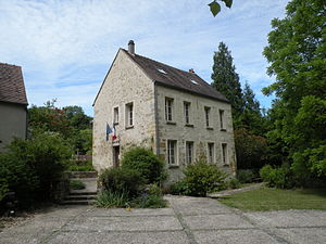Boisemont, Val-d'Oise - The town hall of Boisement