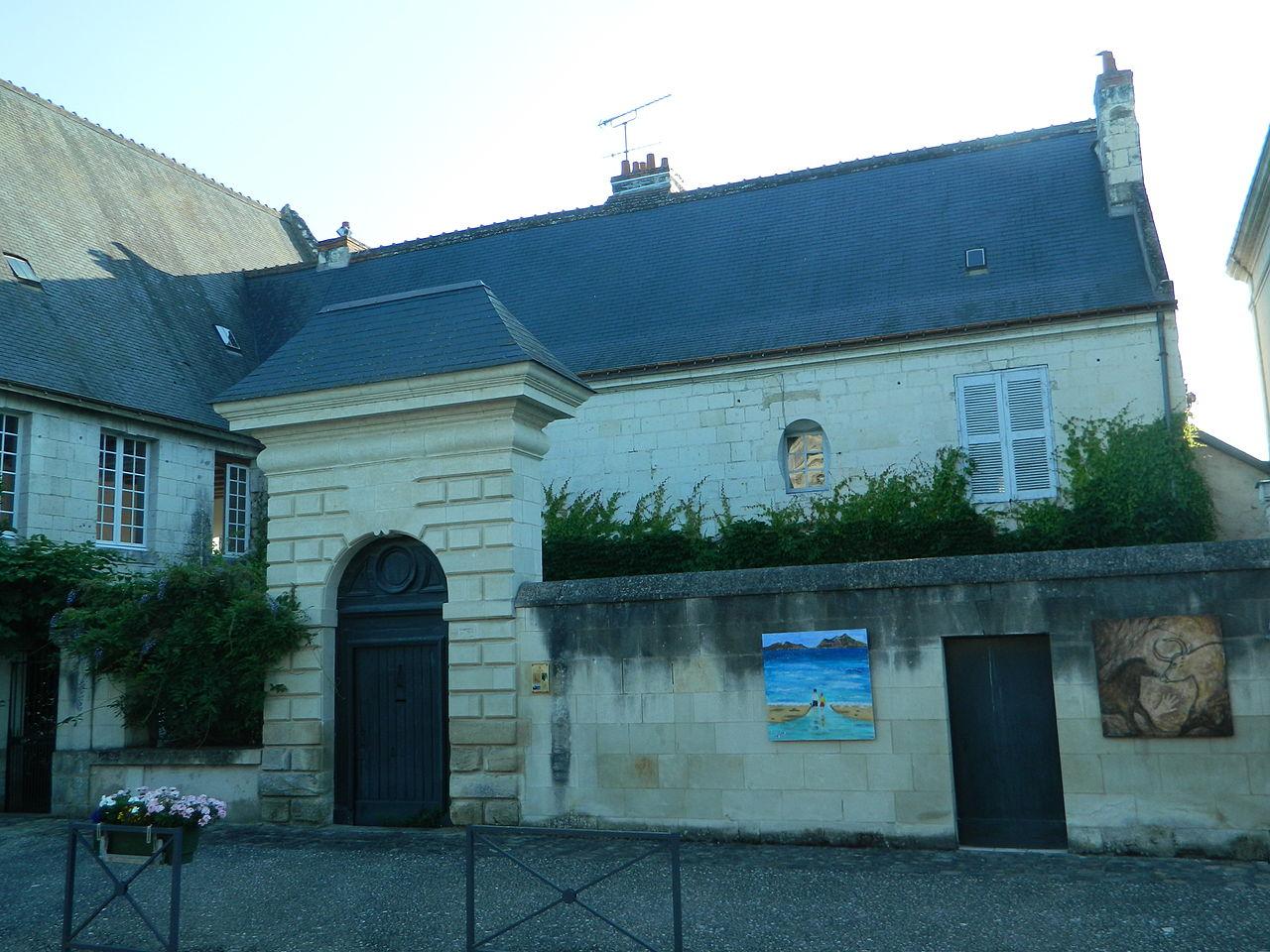 Fichier maison du prieur beaulieu l s loches jpg wikip dia for Origine du mot maison