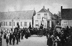Maison natale de Vincent van Gogh, dans le presbytère de Groot-Zundert, aux Pays-Bas