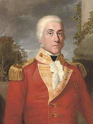93rd Burma Infantry - Image: Major General George Wahab (1752 1808)