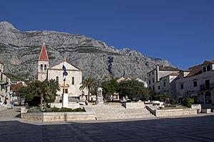 Makarska - Image: Makarska Town Centre