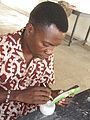 Making of ghanaian glassbeads.JPG