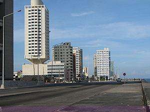 {{es|1=Vista del Malecón de La Habana}}
