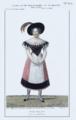 Maleuvre Louis, Costume de Mme Boulanger dans le rôle de Betty, opéra-comique Jenny, 1829.png