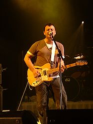 Sänger James Dean Bradfield