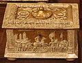 Manifattura ferrese o padovana, cofanetto con dorature e decorazioni a pastiglia, fine XV-XVI sec. 01.JPG