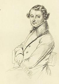 Abraham MankellTeckning af Maria Röhl (1835)