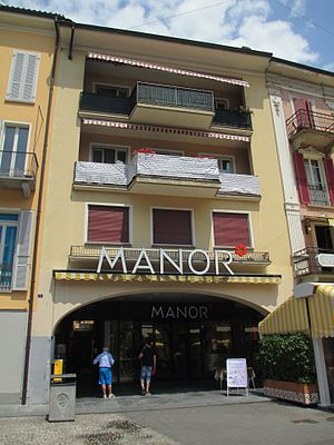 Manor (department store) - Manor in Locarno.