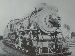 China Railways JF1 2-8-2 steam locomotive