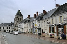 Le centre de Manthelan.