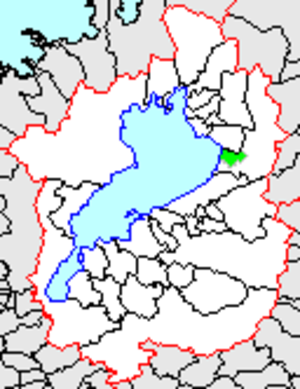 Ōmi, Shiga - Location of Omi