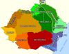 מפת האזורים
