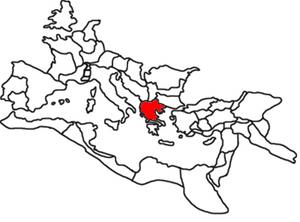 Marcus Terentius Varro Lucullus - Macedonia province within the Roman Empire, c. 120.