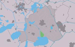 Oldeouwer - Image: Map NL Skarsterlân Alde Ouwer
