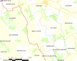 Map commune FR insee code 32383.png