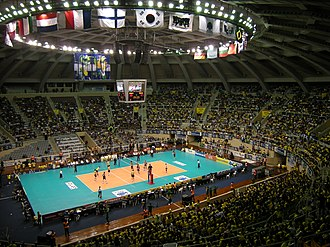 2015 FIVB Volleyball World League - Image: Maracanãzinho (4712854723)