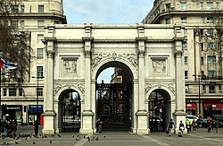 Marble Arch in London, spring 2013 (4).JPG