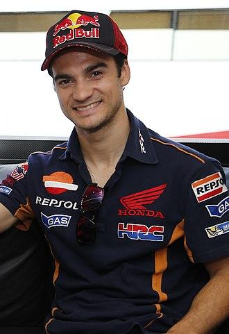 Dani Pedrosa - Pedrosa at the 2016 Italian Grand Prix.