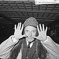 Marcel Marceau (mimespeler) op Schiphol, Marel Marceau, Bestanddeelnr 917-2456.jpg