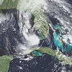 Tropical Storm Marco over the Florida Keys on October 10, 1990