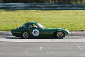 Marcos Engineering - 1961/1962 Marcos Luton Gullwing at Nürburgring, 2007