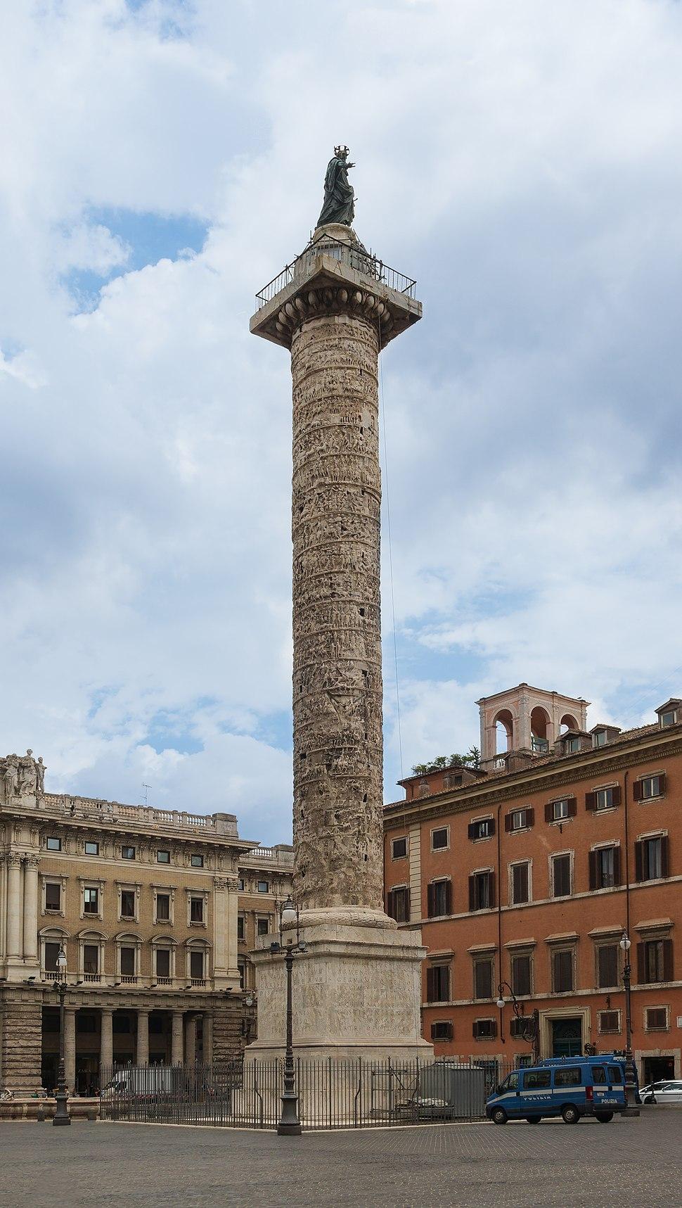 Marcus Aurelius Column, Rome, Italy